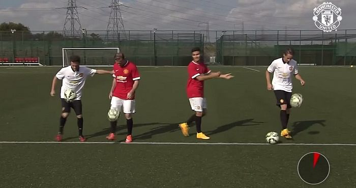 Manchester United's Facebook 60 million challenge: Rooney and Pereira vs Mata and Januzaj