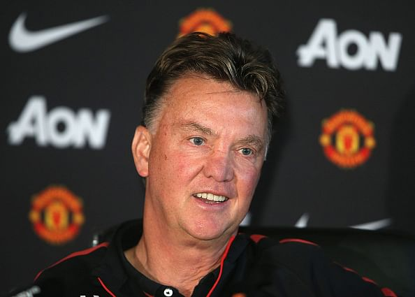 Manchester United boss van Gaal is missing the Champions League