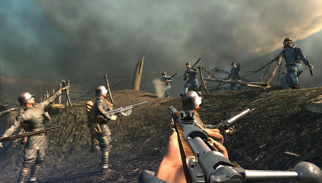 world war 1 games