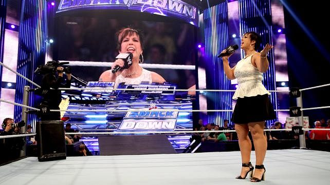 Vickie Guerrero declined invite to Smackdown 15 special
