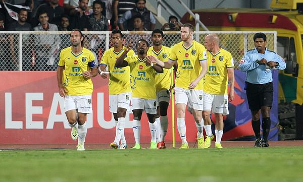 ISL: Kerala Blasters get their first win as they overcame FC Pune City 2-1 in a hard fought encounter