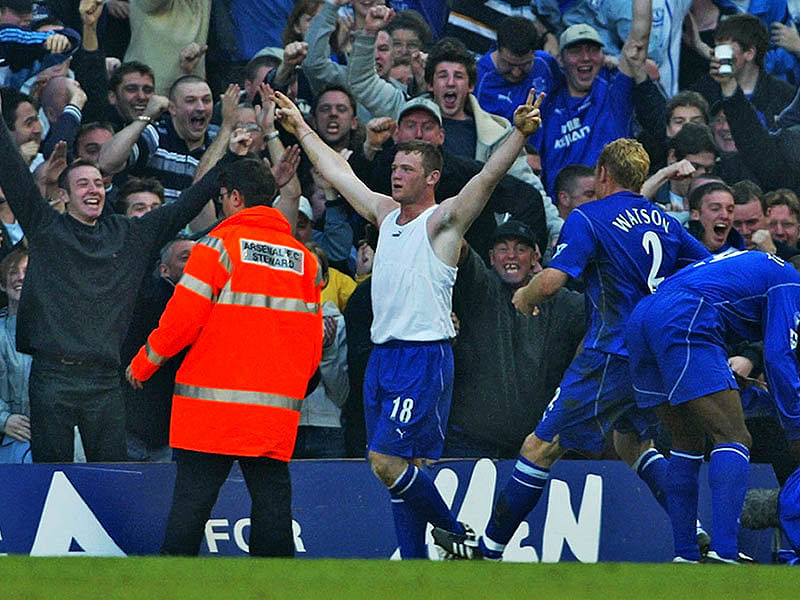 Video: This day 12 years ago Wayne Rooney scored his first Premier League goal against Arsenal