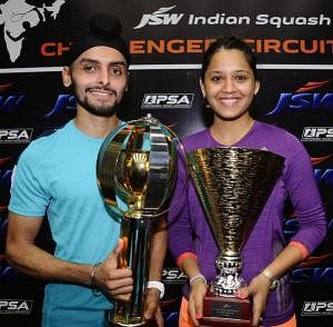 All the highlights from JSW Challenger squash challenger