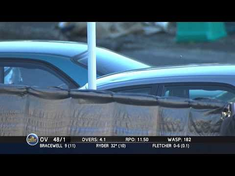 Video: Epic reaction from commentator as Jesse Ryder six hits his car
