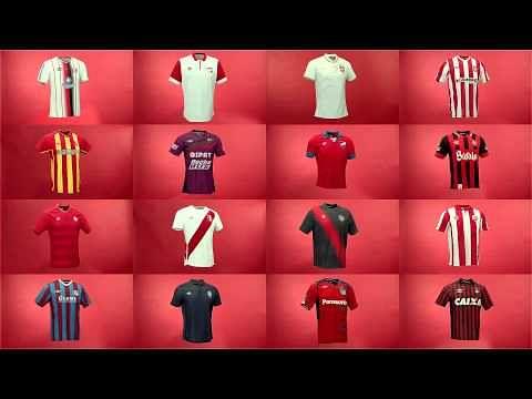 Video: Umbro's football shirts around the world