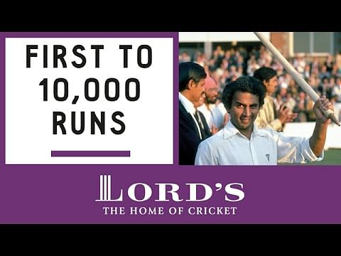 Video: Sunil Gavaskar reflects on playing at Lord's Cricket Ground