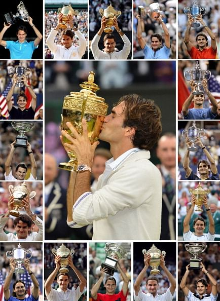 Roger Federer\'s 17 Grand Slam winning moments