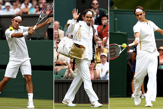 Most classy Roger Federer outfits