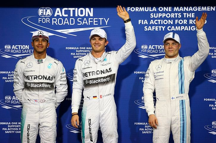 Top 10 Tweets from the Abu Dhabi Grand Prix qualifying