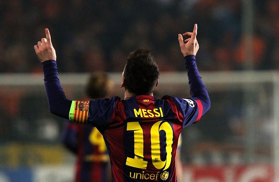 Fantastic to become the highest scorer, says Messi