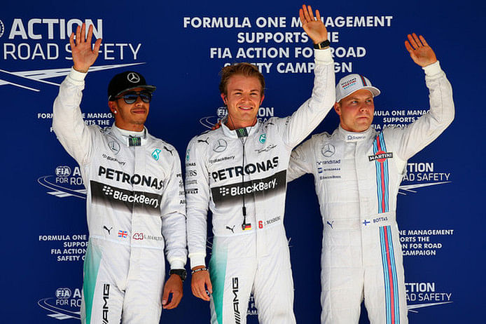 Best tweets from US Grand Prix qualifying as Rosberg takes poll from Hamilton
