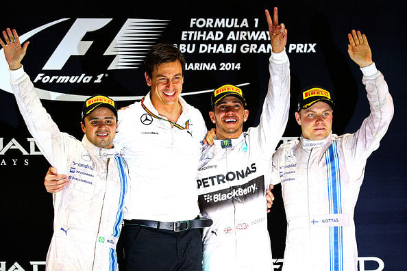 Top 10 Tweets from the Abu Dhabi Grand Prix