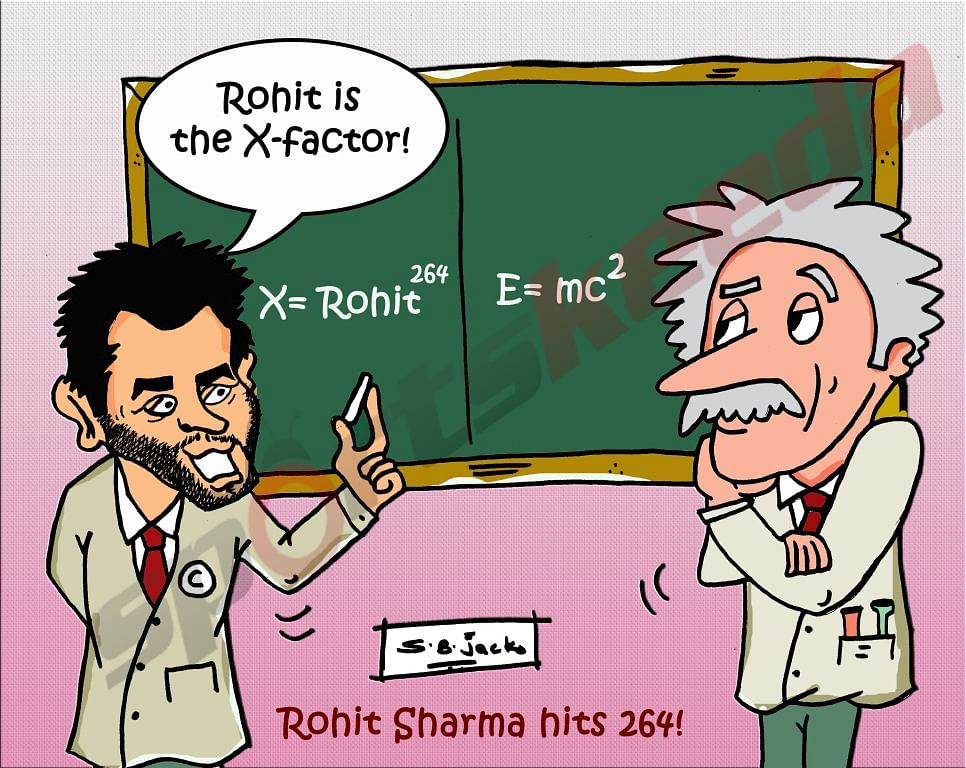 Comic: Rohit Sharma - India's X-Factor