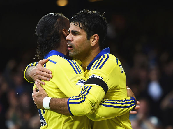 Diego Costa and Didier Drogba: Birds of the same feather that will not fly together