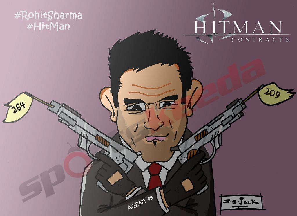 Comic: Rohit Sharma - The Hitman