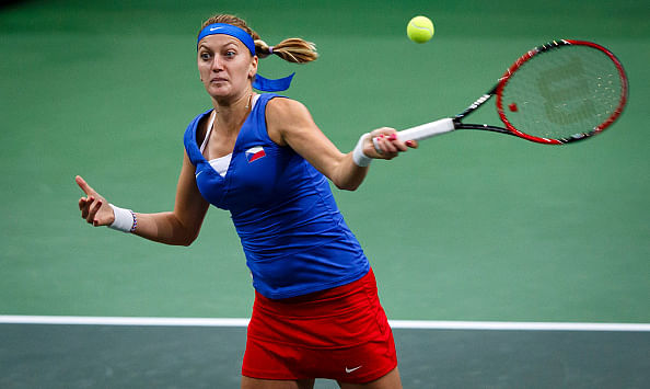 Czech Republic lead Germany 2-0 in Fed Cup final