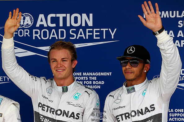 Scenarios that could determine the 2014 Formula 1 World Champion
