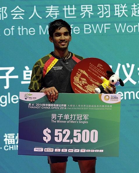 K Srikanth registers impressive win over Lin Dan in China Open