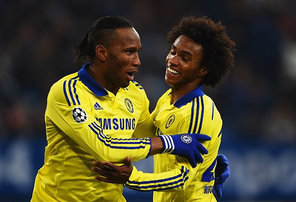 Didier Drogba becomes the 1st African footballer to score 50 goals in European competitions.