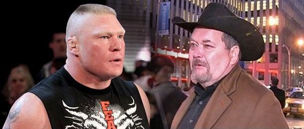 Jim Ross weighs in on how WWE should book Brock Lesnar through WrestleMania 31