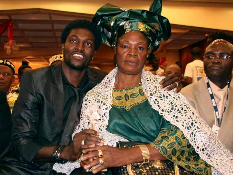 Emmanuel Adebayor claims that his mom is using witchcraft to ruin his career
