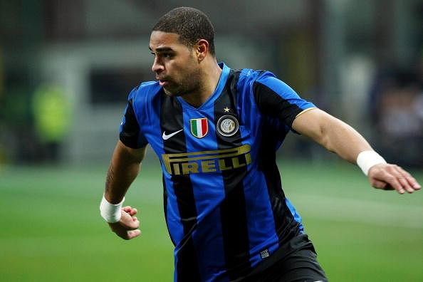 Former Brazil and Inter Milan star Adriano charged with drug mafia links