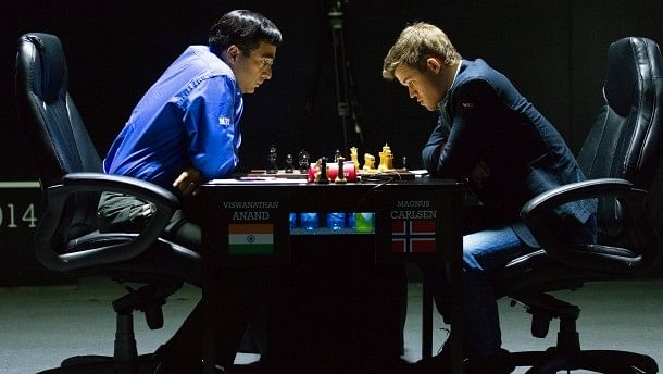 World Chess Championship 2014: Viswanathan Anand holds Magnus Carlsen to a draw in an epic game 7