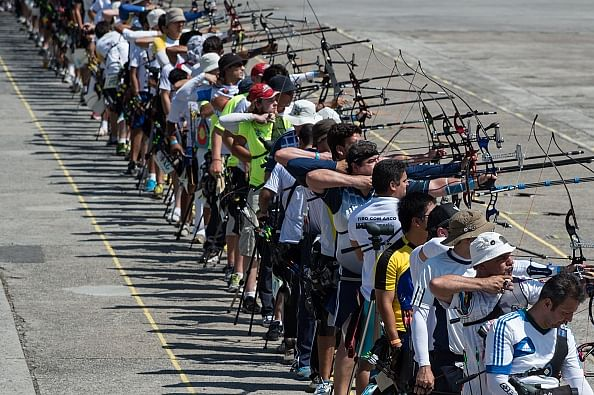 Sambodromo hosts its first archery tournament