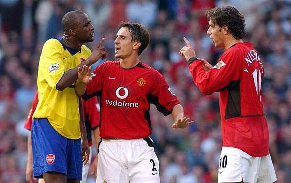 5 most controversial moments in the Arsenal-Manchester United rivalry