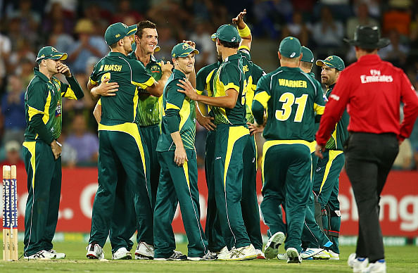 Australia move to 2nd place in ODI rankings
