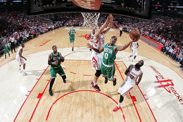 Rockets beat Celtics in NBA home opener