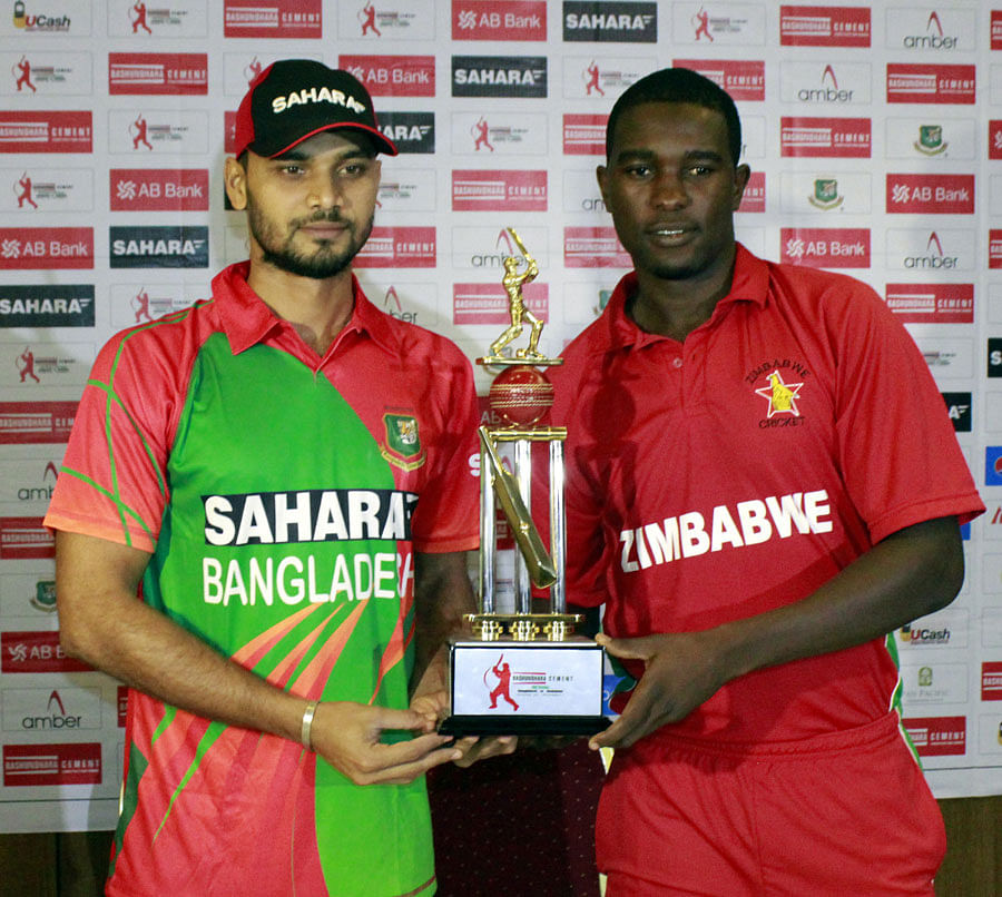 Bangladesh, Zimbabwe chase ODI rankings points