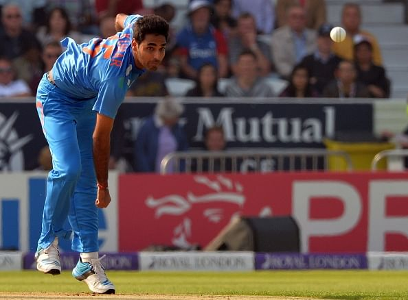 Bhuvneshwar Kumar moves to 6th spot in latest ICC ODI Rankings