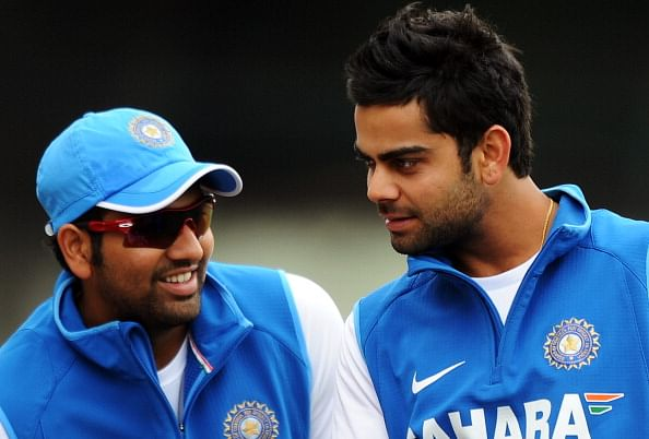 Taking batting Powerplay early was a brilliant move by Virat Kohli: Rohit Sharma
