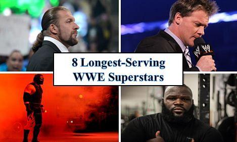 Top 8 longest serving superstars in the WWE