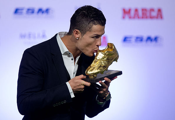 Cristiano Ronaldo than...
