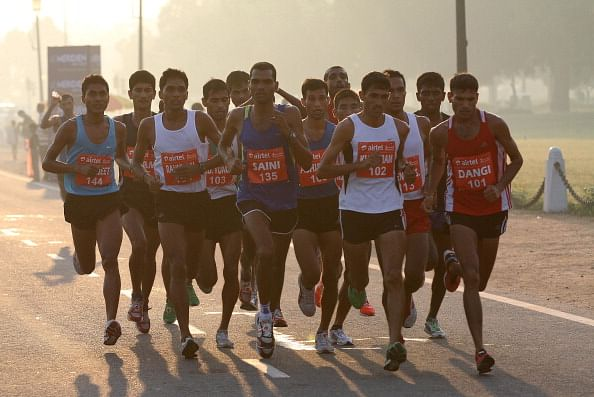 Delhi Half Marathon: Suresh, Preeja crowned victors among Indians