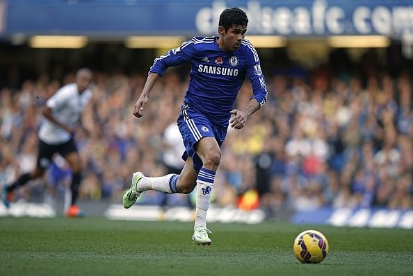 Diego Costa has already scored more goals than Torres, Eto'o and Ba from the 2013/14 season
