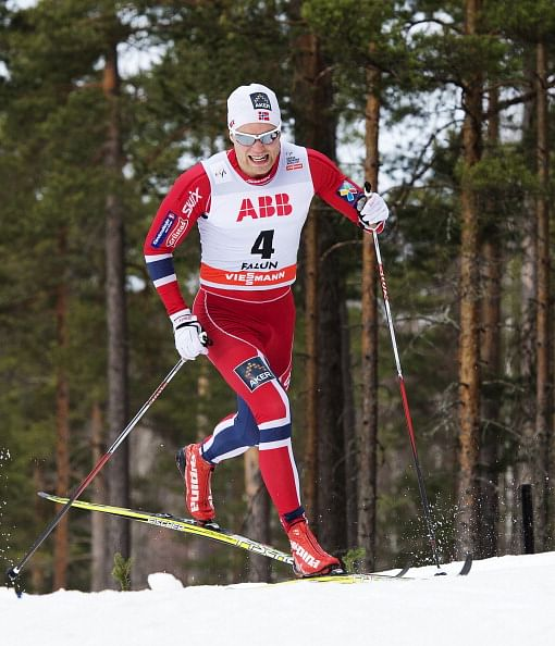 Norway's Brandsdal and Bjoergen complete golden double with cross country titles