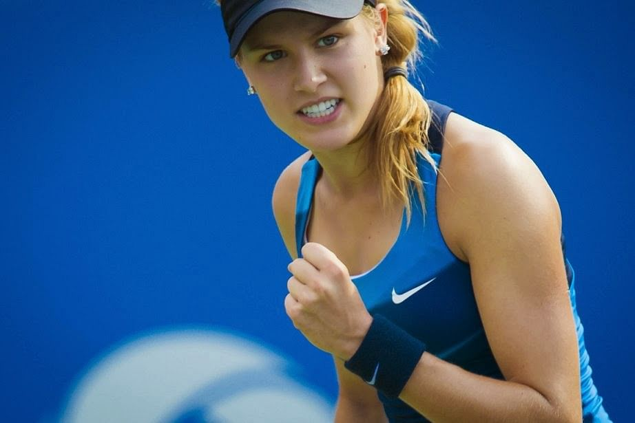 The best pictures of Eugenie Bouchard!