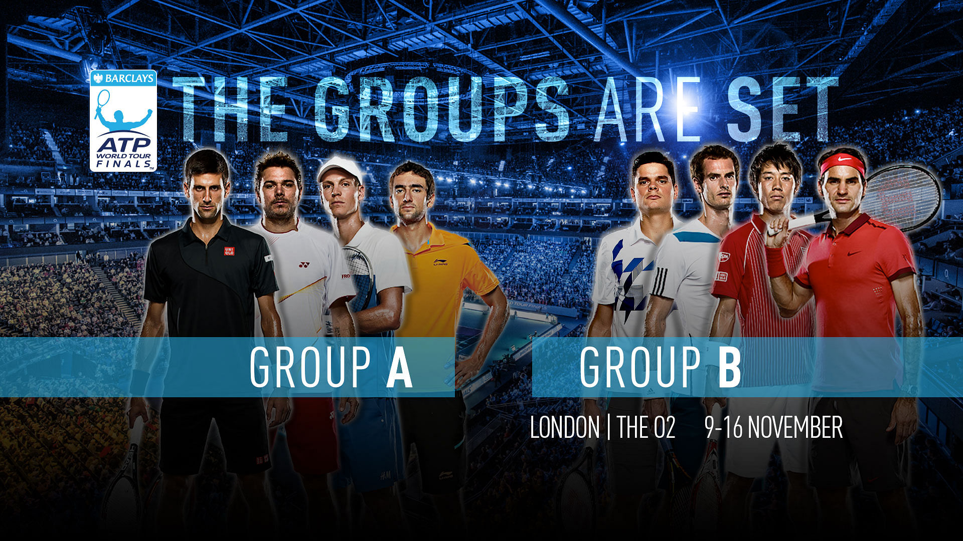 Barclays ATP World Tour Finals: Preview and predictions