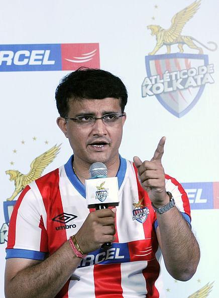 Ganguly pep talk for Atletico de Kolkata players