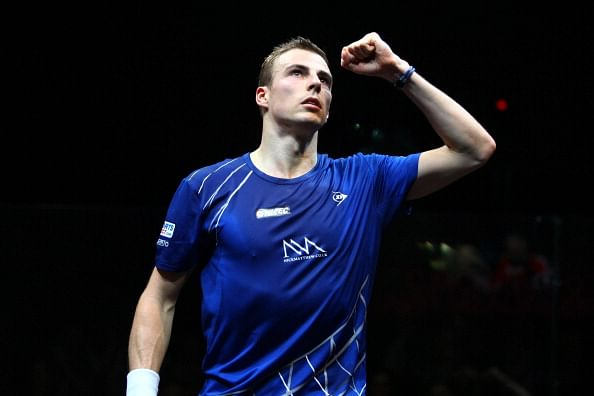 World Squash Championships: Gregory Gaultier is into the semifinals