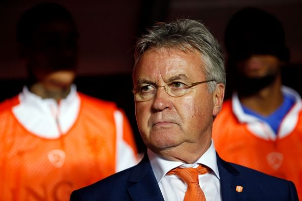 Guus Hiddink to step down if Netherlands fail to win next match