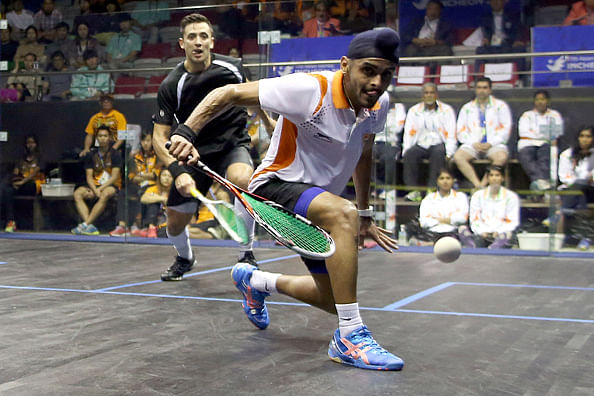 Harinder Pal Singh Sandhu storms into squash final at Asian Beach Games