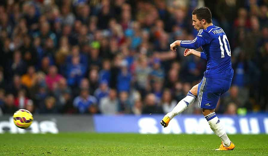 Eden Hazard's guile proves too much for resilient Queens Park Rangers
