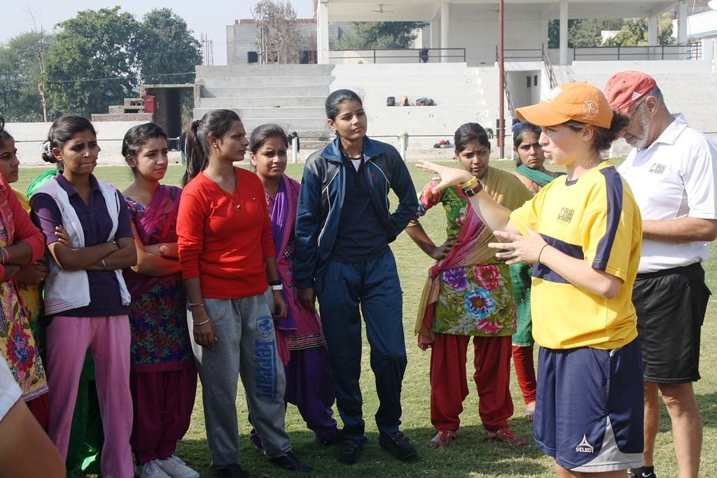 Coaches across continents organized a coaching workshop for the youth at YFC Rurka Kalan