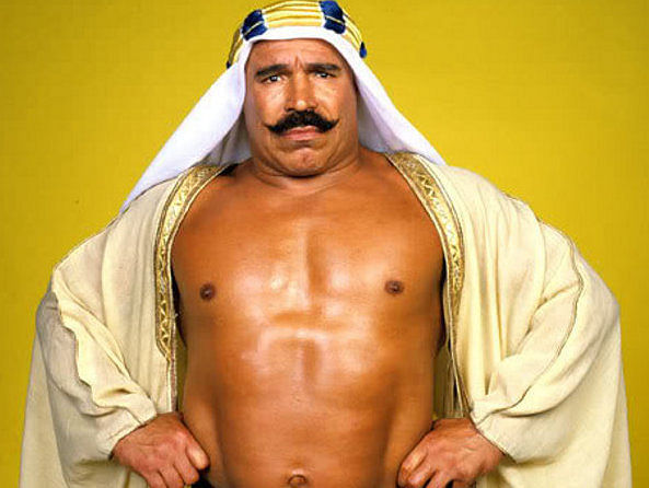 the rock credits wwe hall of famer iron sheik for his famous catchphrase
