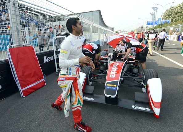 Karun Chandhok upbeat ahead of second Formula E race