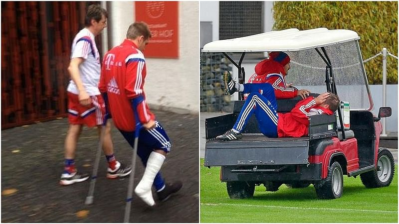Bayern Munich captain Philipp Lahm to be out injured for three months